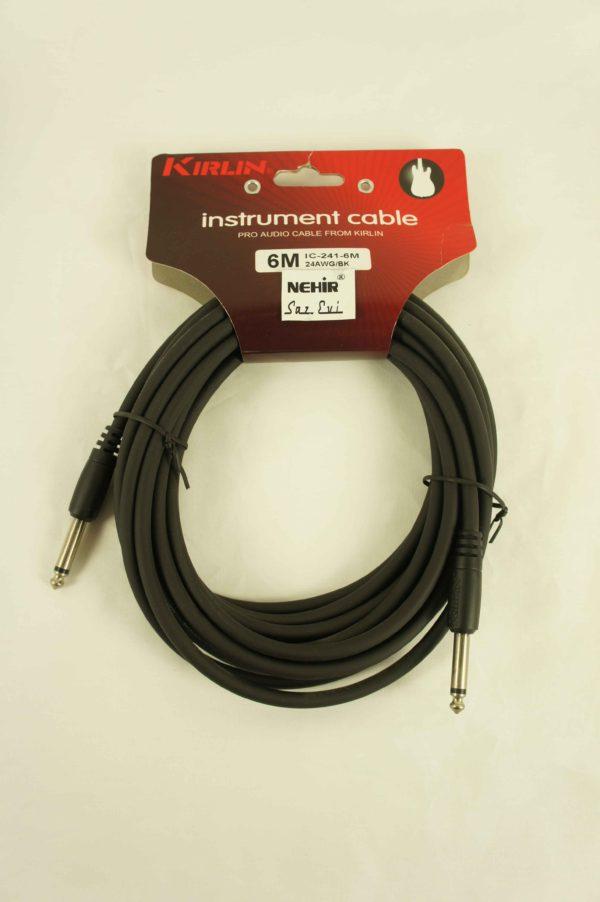 baglama_gitar_ara_kablo_instrument_cable_6m_kirlin_IC-241-6M_2